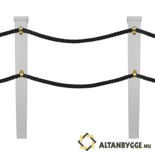 Helt nya Altanräcken, stolpar, pelare, kolonner, mm - Allt för ditt BK-74